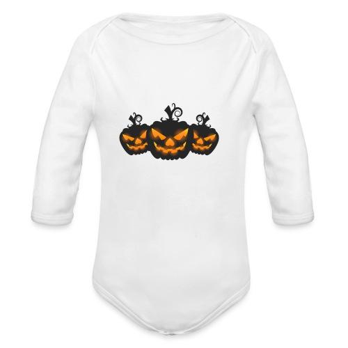 Halloween - Organic Longsleeve Baby Bodysuit