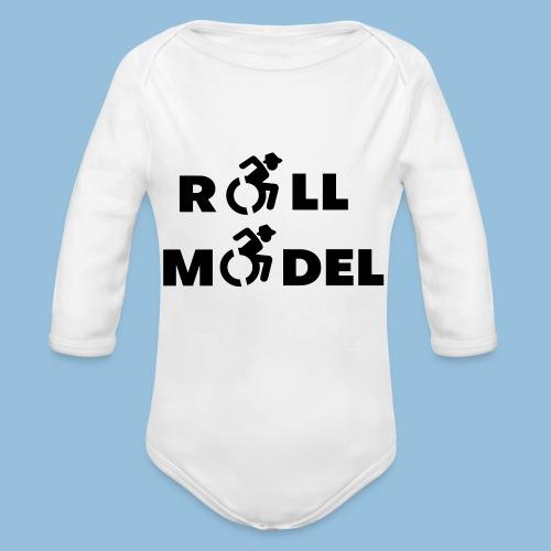 RollModel5 - Baby bio-rompertje met lange mouwen