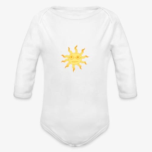soleil - Body Bébé bio manches longues