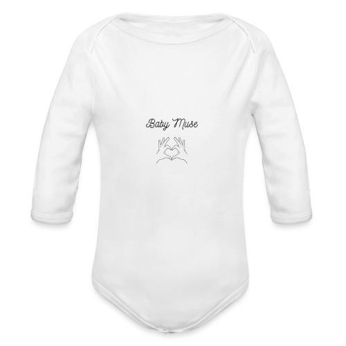 Babymuse design - Body Bébé bio manches longues