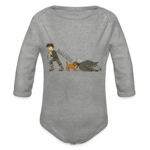 Hundeführer - Baby Bio-Langarm-Body