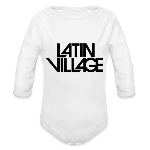 Logo Latin Village 30 - Baby bio-rompertje met lange mouwen