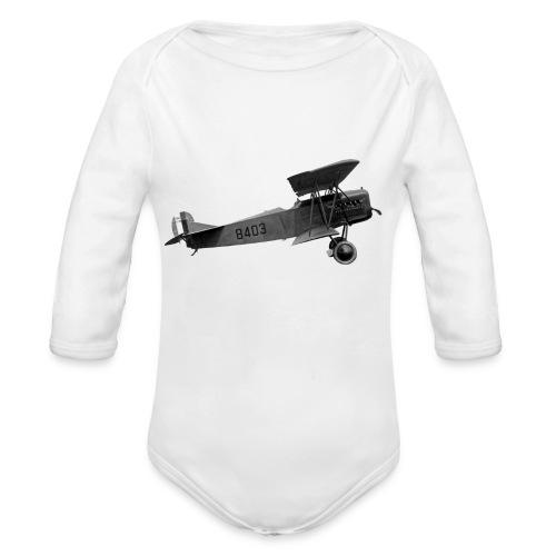 Paperplane - Organic Longsleeve Baby Bodysuit