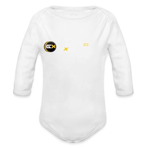 Maglietta Game-eXperience - Body ecologico per neonato a manica lunga