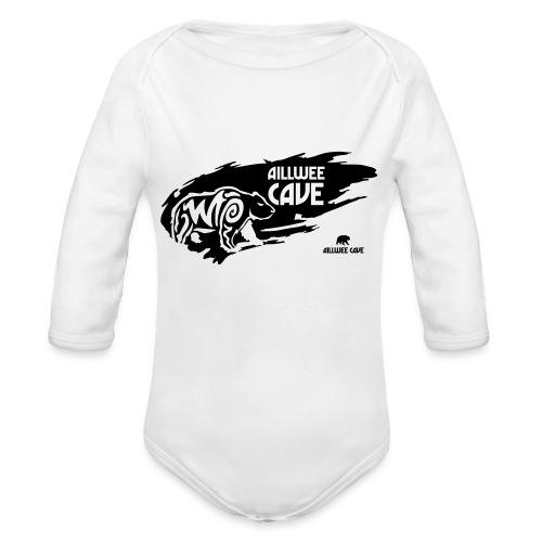 Legend_-_Aillwee_Cave1 - Organic Longsleeve Baby Bodysuit