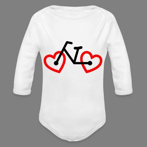 Bike Love - Baby Bio-Langarm-Body