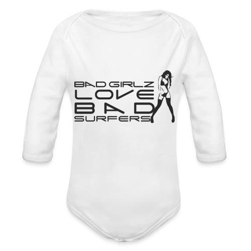 badgirlz - Body ecologico per neonato a manica lunga