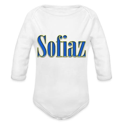 Sofiaz - Ekologisk långärmad babybody