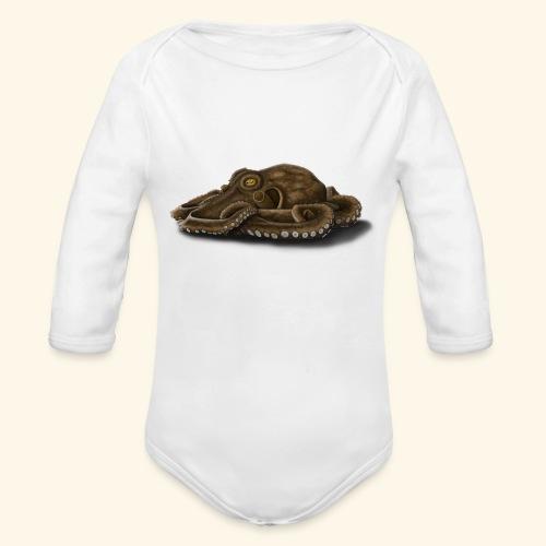Oktopus - Baby Bio-Langarm-Body
