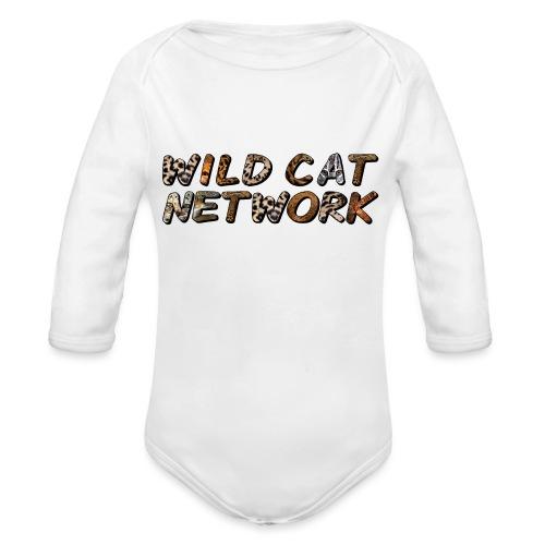 WildCatNetwork 1 - Organic Longsleeve Baby Bodysuit