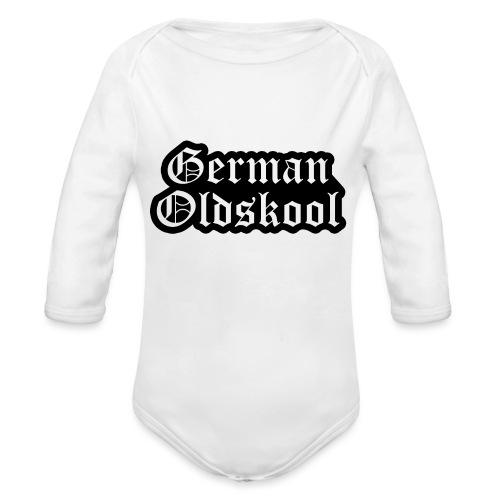 Grand Logo German Oldskool Official - Body Bébé bio manches longues