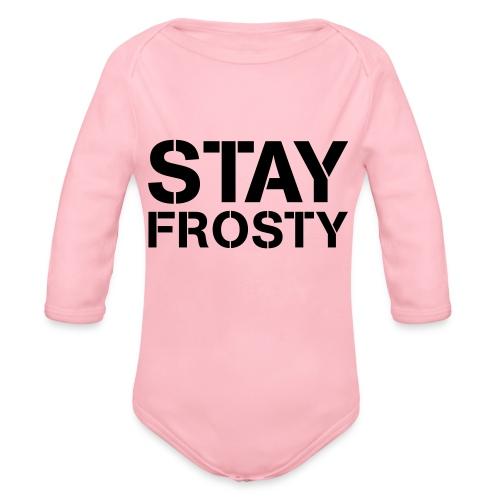 Stay Frosty - Organic Longsleeve Baby Bodysuit