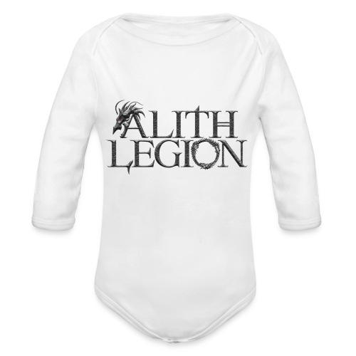 Alith Legion Dragon Logo - Organic Longsleeve Baby Bodysuit