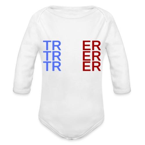TRADER X3 - Body Bébé bio manches longues