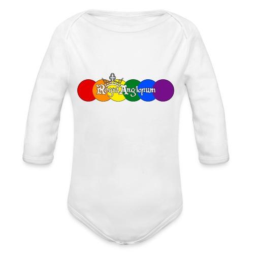 Pride Rounds - Organic Longsleeve Baby Bodysuit