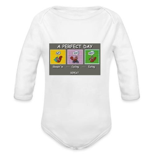 A Perfect Day Halmi - Comic - Baby Bio-Langarm-Body