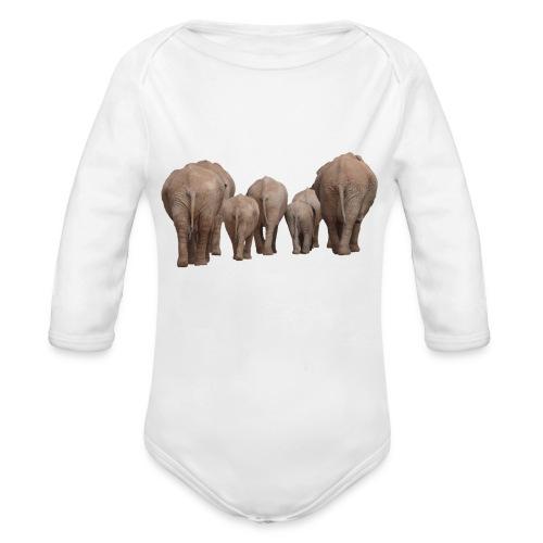 elephant 1049840 - Body ecologico per neonato a manica lunga