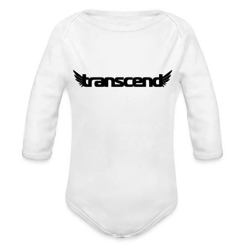 Transcend Mug - Black Print - Organic Longsleeve Baby Bodysuit