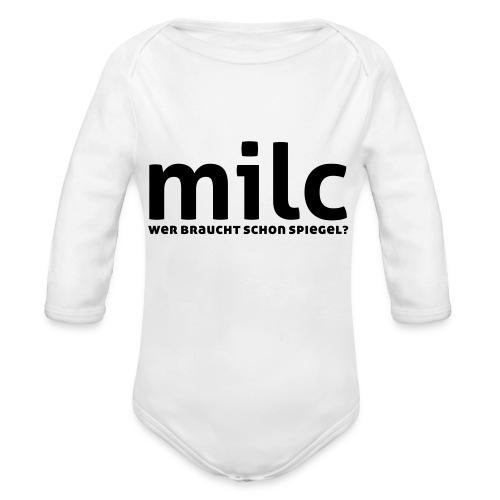 milc - Baby Bio-Langarm-Body