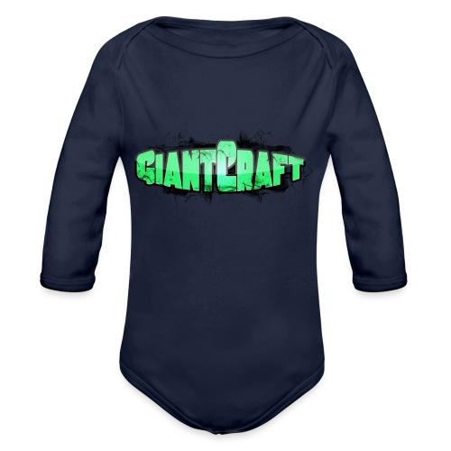 Hættetrøje - GiantCraft - Langærmet babybody, økologisk bomuld