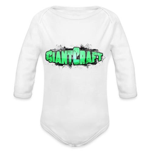 Vandflaske - GiantCraft - Langærmet babybody, økologisk bomuld