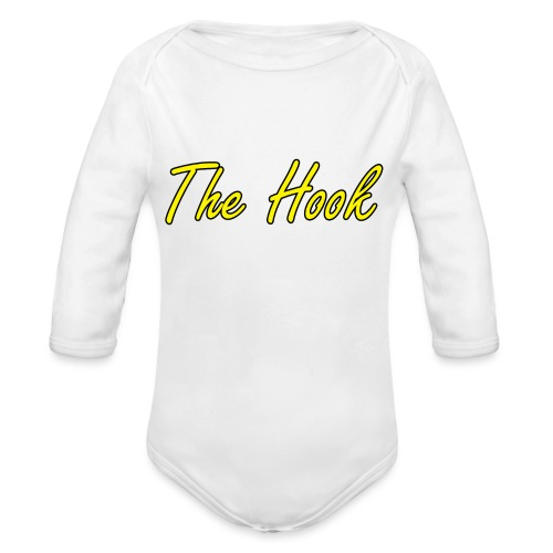 The Hook Logo - Ekologisk långärmad babybody