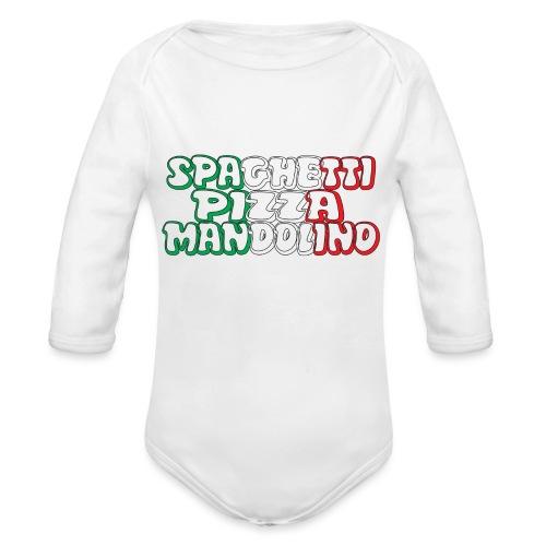 Italy - Body ecologico per neonato a manica lunga