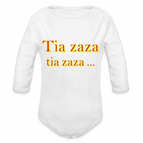 Tia zaza - Body bébé bio manches longues
