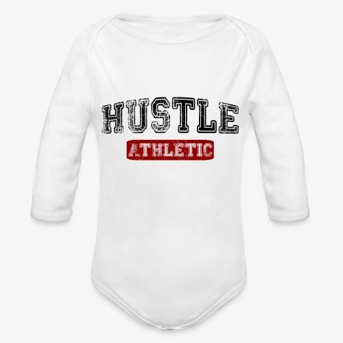 Hustle Athletic - Baby Bio-Langarm-Body