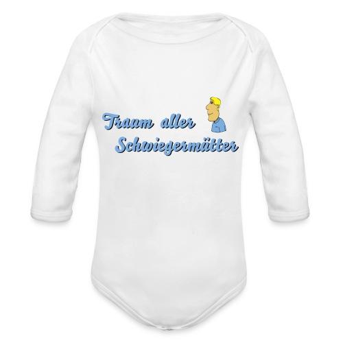 Traum aller Schwiegermütter - Baby Bio-Langarm-Body