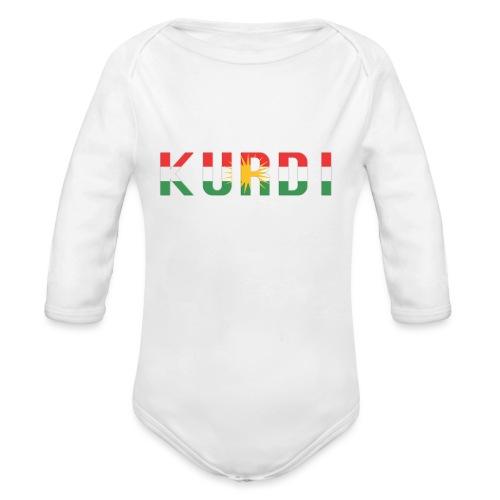 KURDI LOGO - Baby Bio-Langarm-Body