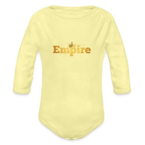 EMPIRE - Body Bébé bio manches longues