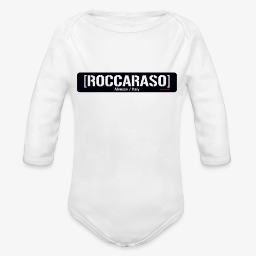 Roccaraso - Body ecologico per neonato a manica lunga