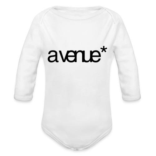 Logo AVenue1 80 - Baby bio-rompertje met lange mouwen