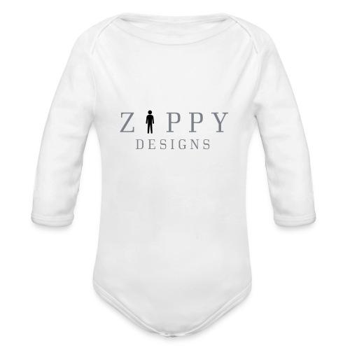 ZIPPY 2 - Body orgánico de manga larga para bebé