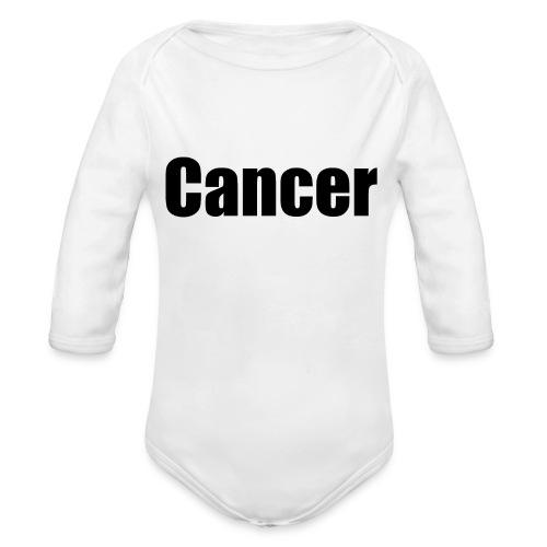 Cancer. - Organic Longsleeve Baby Bodysuit