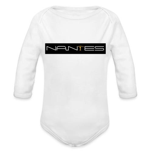 NanTes - Body Bébé bio manches longues