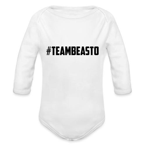#TeamBeasto Best-Sellers - Organic Longsleeve Baby Bodysuit