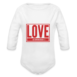 Love Las Canteras - Body orgánico de manga larga para bebé