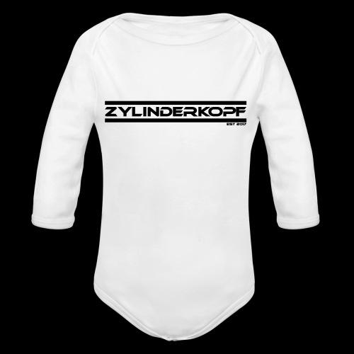Zylinderkopf classic green Edition - Baby Bio-Langarm-Body