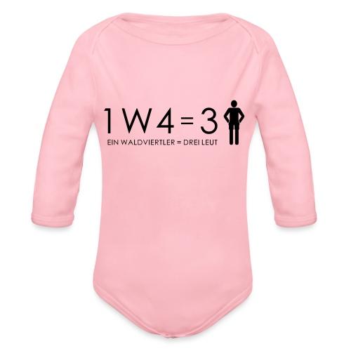 1W4 3L - Baby Bio-Langarm-Body