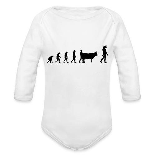 Evolution Mythologie - Body Bébé bio manches longues