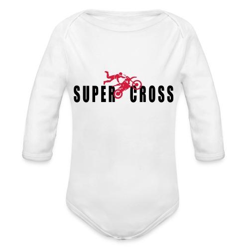 air Supercross - Body Bébé bio manches longues