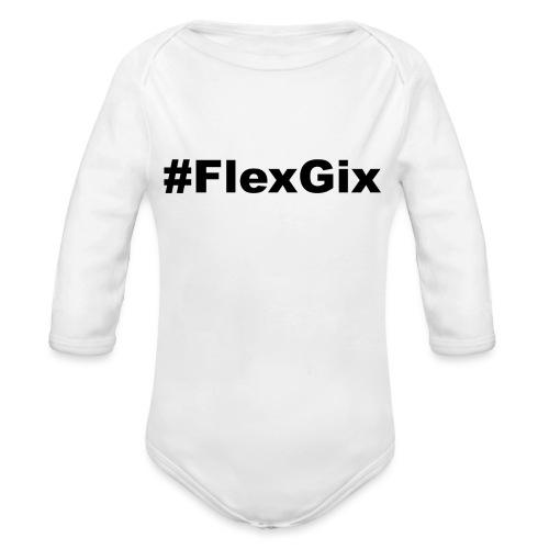 #FlexGix 1.1 - Baby Bio-Langarm-Body