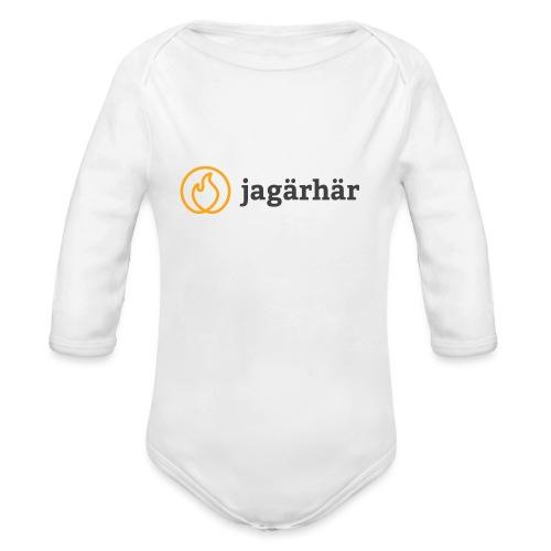 #jagärhär - Ekologisk långärmad babybody