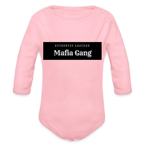 Mafia Gang - Nouvelle marque de vêtements - Body Bébé bio manches longues
