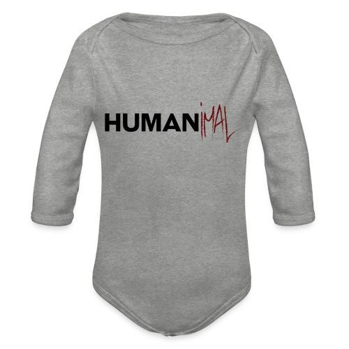 humanimal - Body Bébé bio manches longues