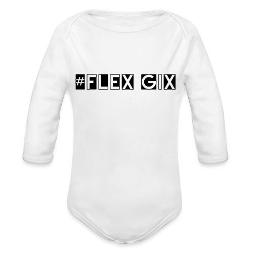 #Flex Gix 2.1 - Baby Bio-Langarm-Body
