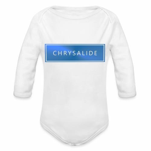 Chrysalide t shirt 014 petit format - Body Bébé bio manches longues
