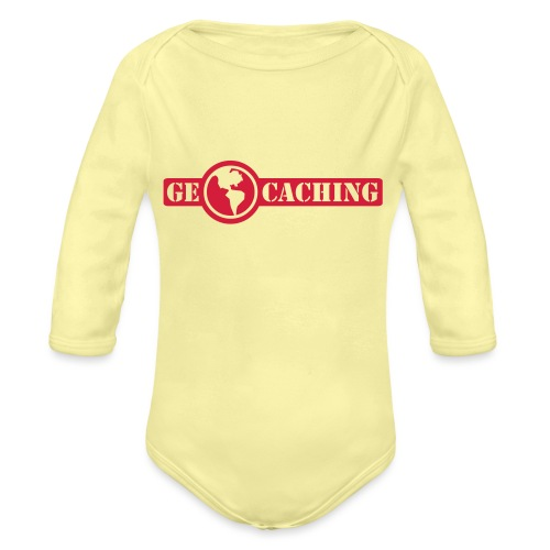 Geocaching - 1color - 2011 - Baby Bio-Langarm-Body
